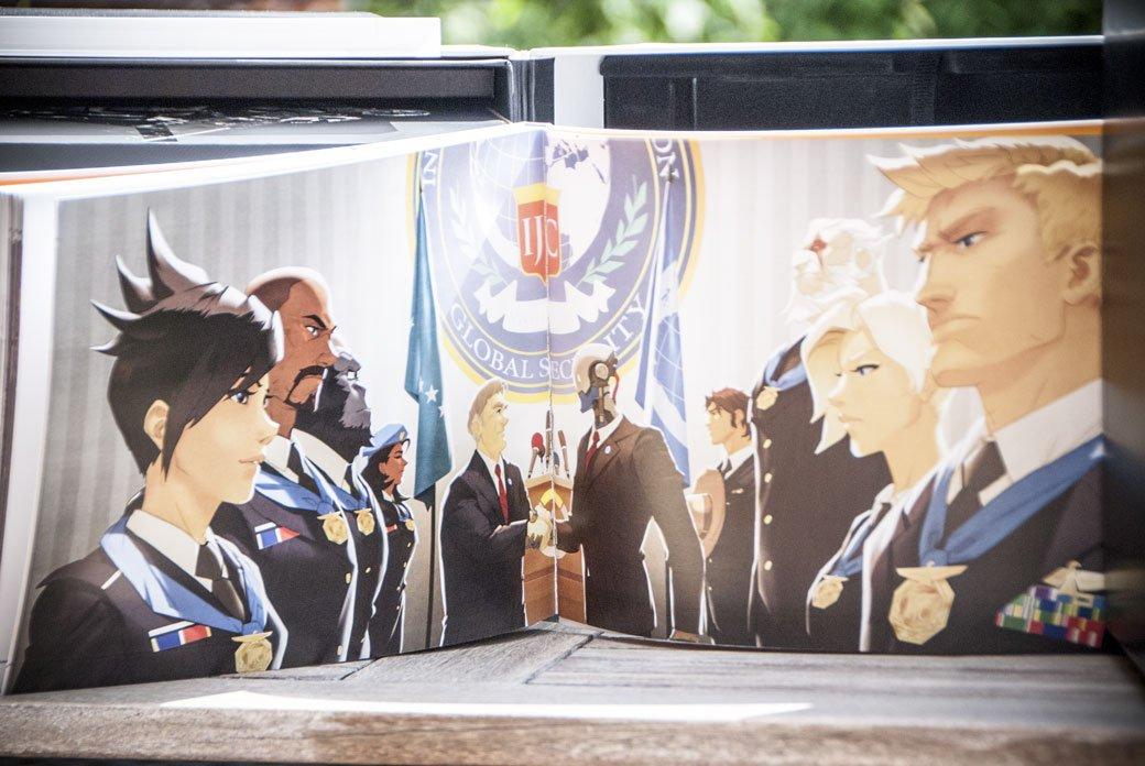 Распаковка коллекционного издания Overwatch | Канобу - Изображение 3
