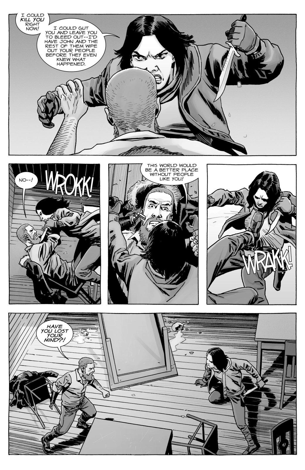 Кто погиб в новом номере комикса «Ходячие мертвецов»?   Канобу - Изображение 10768