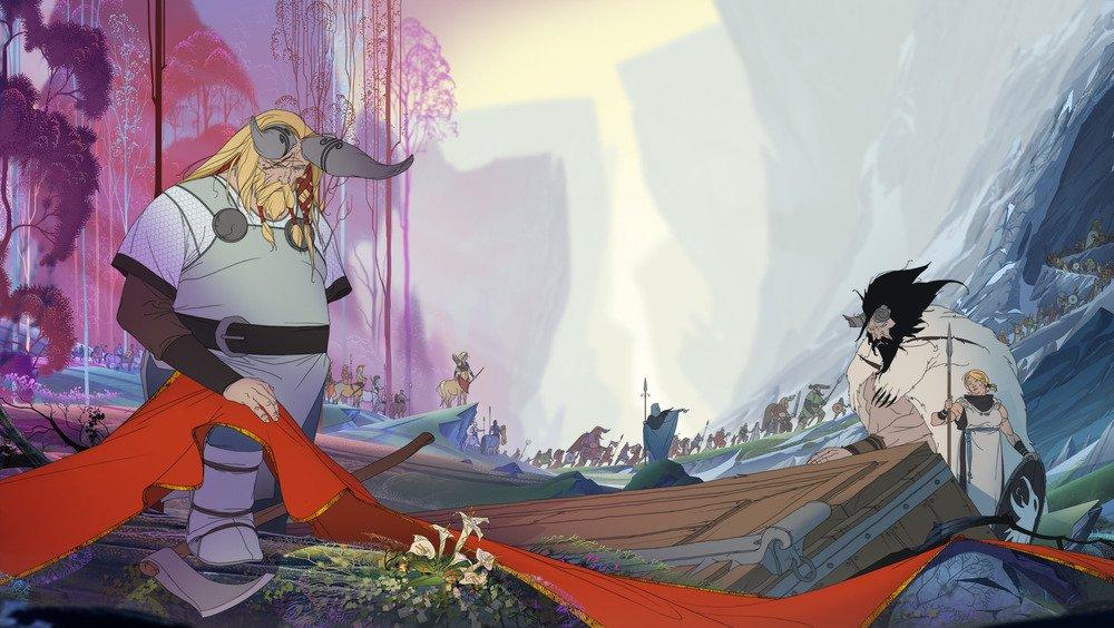 Banner Saga 2 – это прямое продолжение тактической РПГ двухлетней давности, созданной с помощью краудфандинга студией Stoic (выходцами из BioWare) и получившей кучу заслуженных наград. В нее однозначно нужно играть всем, кто соскучился по действительно сильному сюжету, жестоким последствиям вашего выбора и инновационным тактическим боям. Если вы любите боевку Heroes of Might and Magic, XCom, Fallout, но до сих пор не играли в Banner Saga, то я постараюсь убедить вас исправить данное недоразумение.