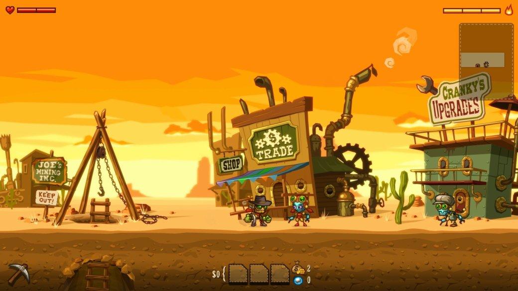 Рецензия на SteamWorld Dig | Канобу - Изображение 5314
