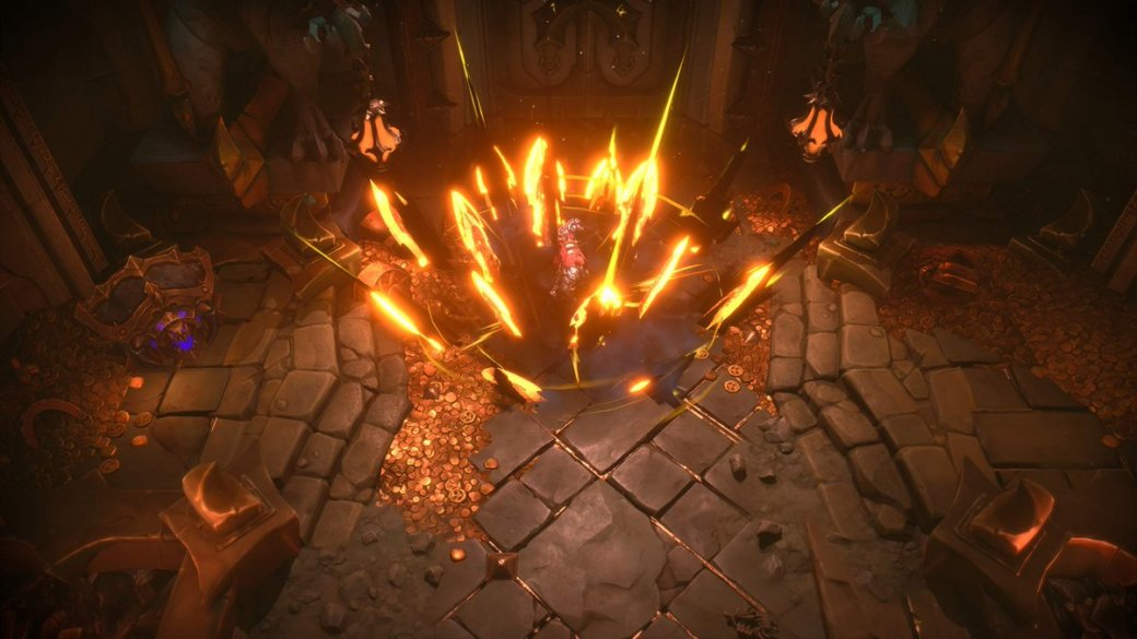 E3 2019. Превью Darksiders: Genesis— вид сверху, кооператив ичетвертый Всадник | Канобу - Изображение 0