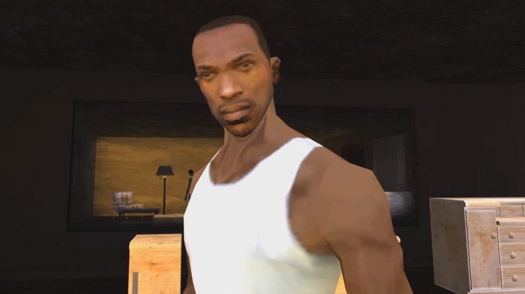 Новый мод для ремейка Resident Evil 2 добавил вигру CJизSan Andreas. Угадайте, кто вместо Тирана