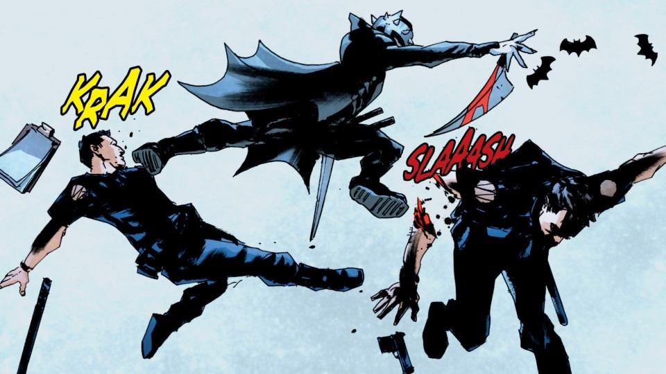 Бэтмен-Джокер раскидывает трупы Брюсов Уэйнов вГотэме. Каким получился комикс The Batman Who Laughs   Канобу - Изображение 11029