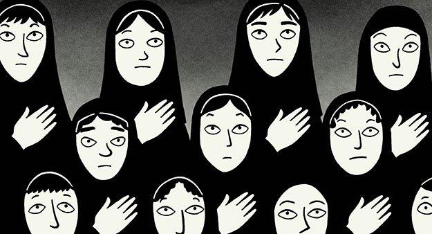 «Персеполис»— комикс онелегкой женской доле вИране после Исламской революции   Канобу