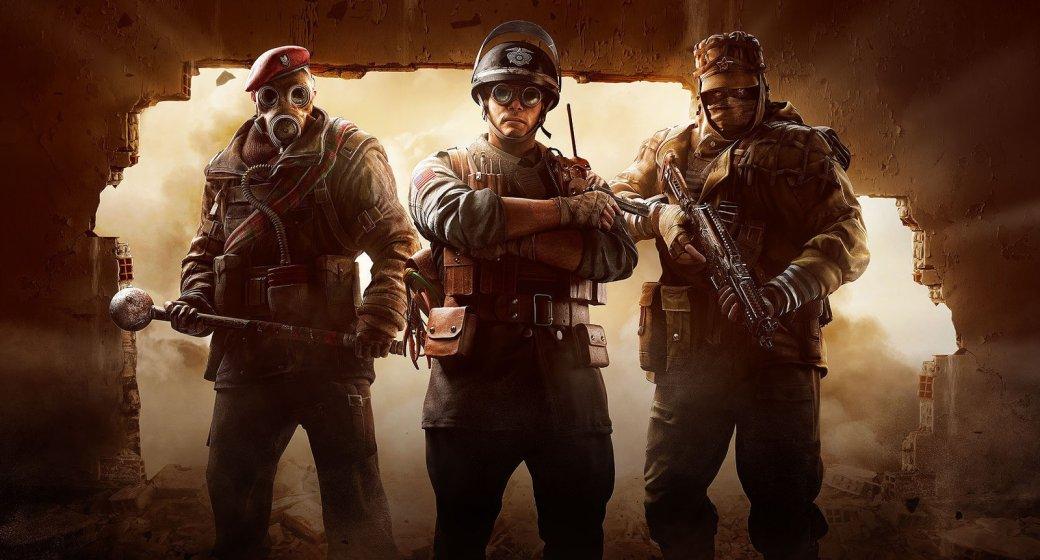 Гифка дня: слишком «тесная» командная работа вTom Clancy's Rainbow Six: Siege. - Изображение 1