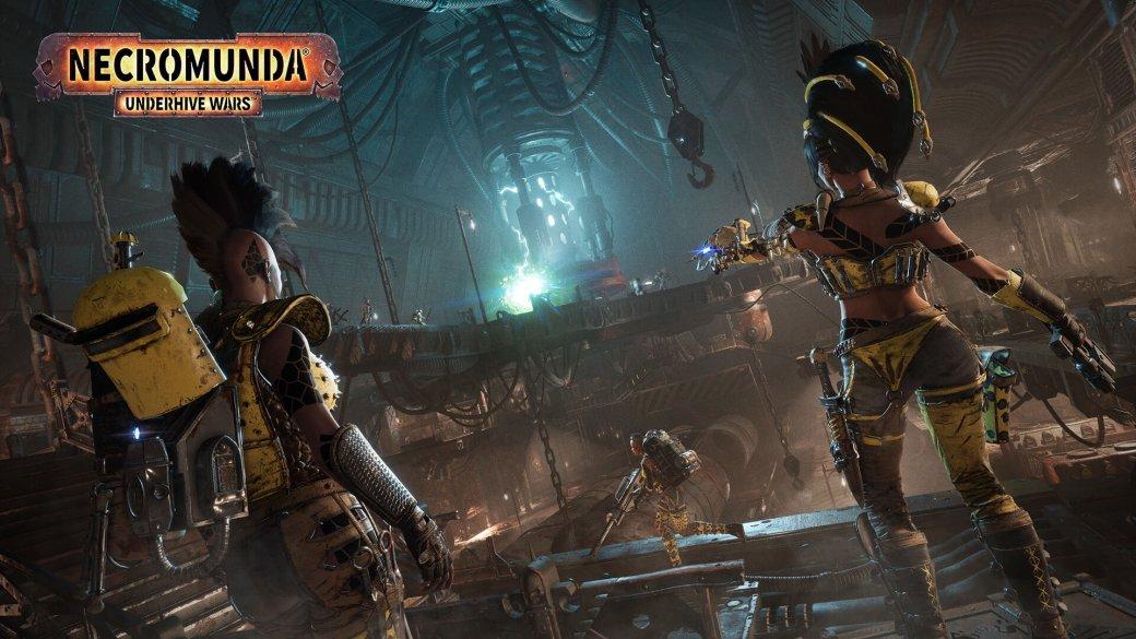 Первые скриншоты Necromunda: Underhive Wars во вселенной Warhammer 40K. Мрачно и жестоко! | Канобу - Изображение 1
