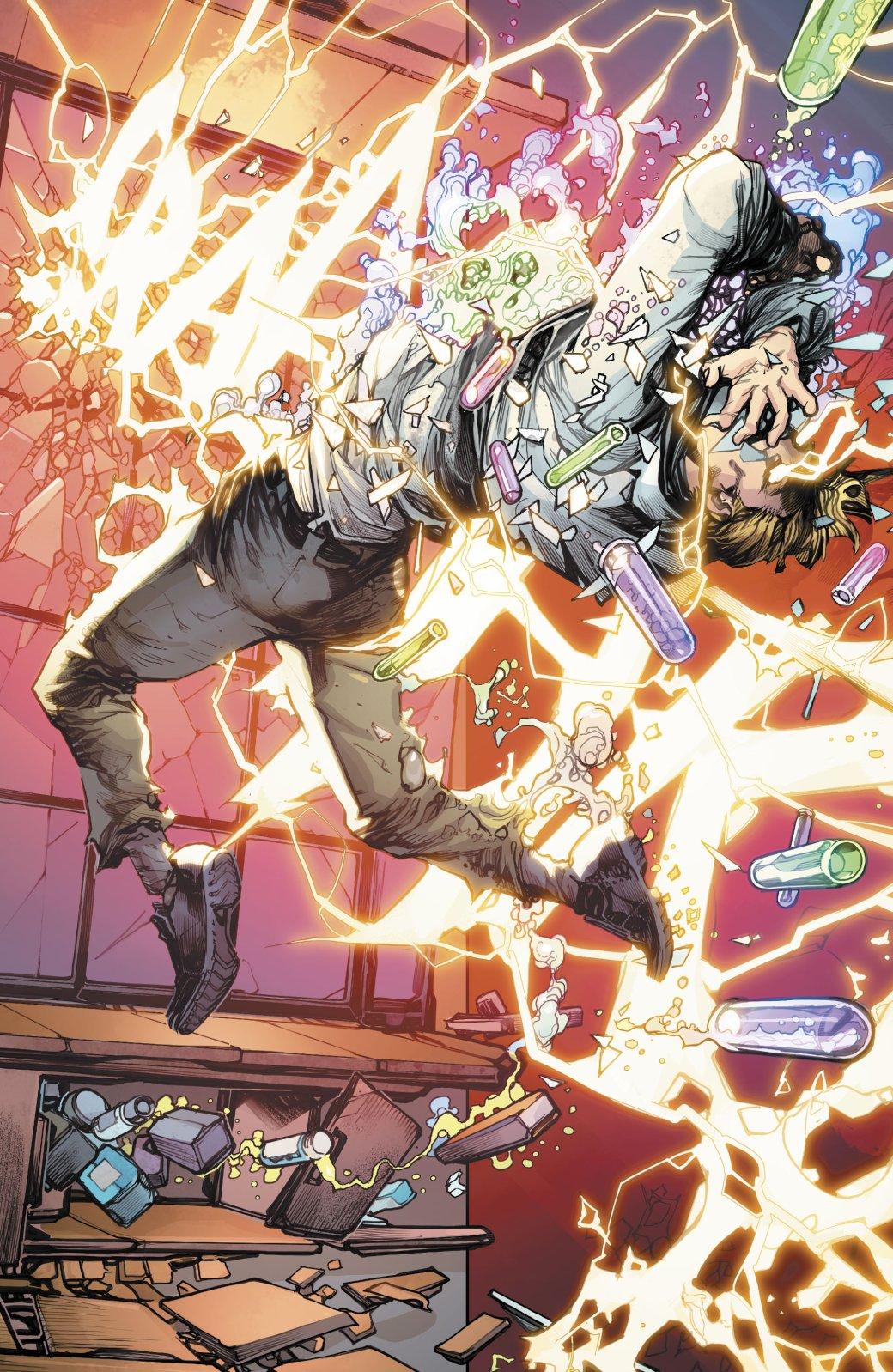 Какая неожиданная встреча произошла сФлэшем впервом выпуске Flash: YearOne? | Канобу - Изображение 5324