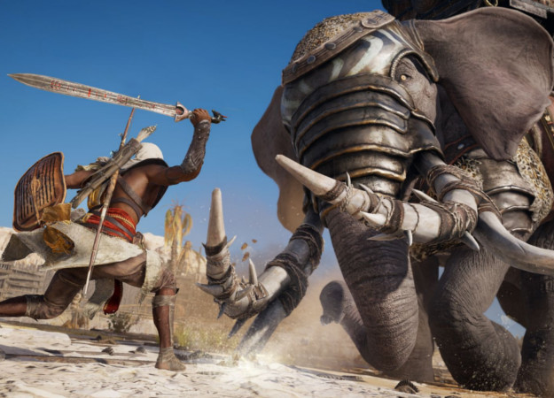 Убить боевого слона голыми руками? В Assassin's Creed: Origins можно все! | Канобу - Изображение 1213