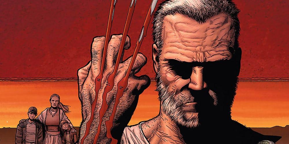 Нетолько Старик Логан. Какие еще супергерои оказывались пожилыми настраницах комиксов? | Канобу