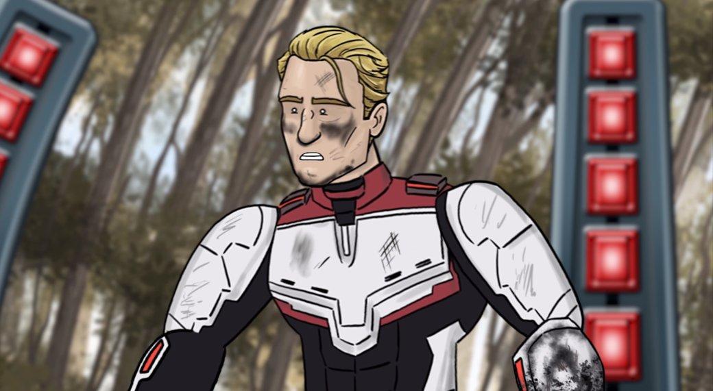 Капитан Америка возвращает Камни бесконечности вшуточном ролике HISHE. СДэдпулом!   Канобу - Изображение 1