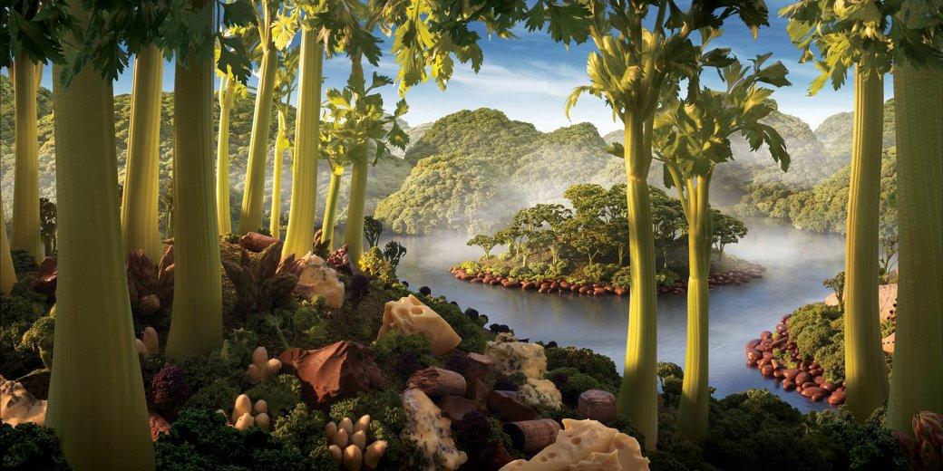 Фотограф создает сказочные пейзажи, используя только еду   Канобу - Изображение 13819