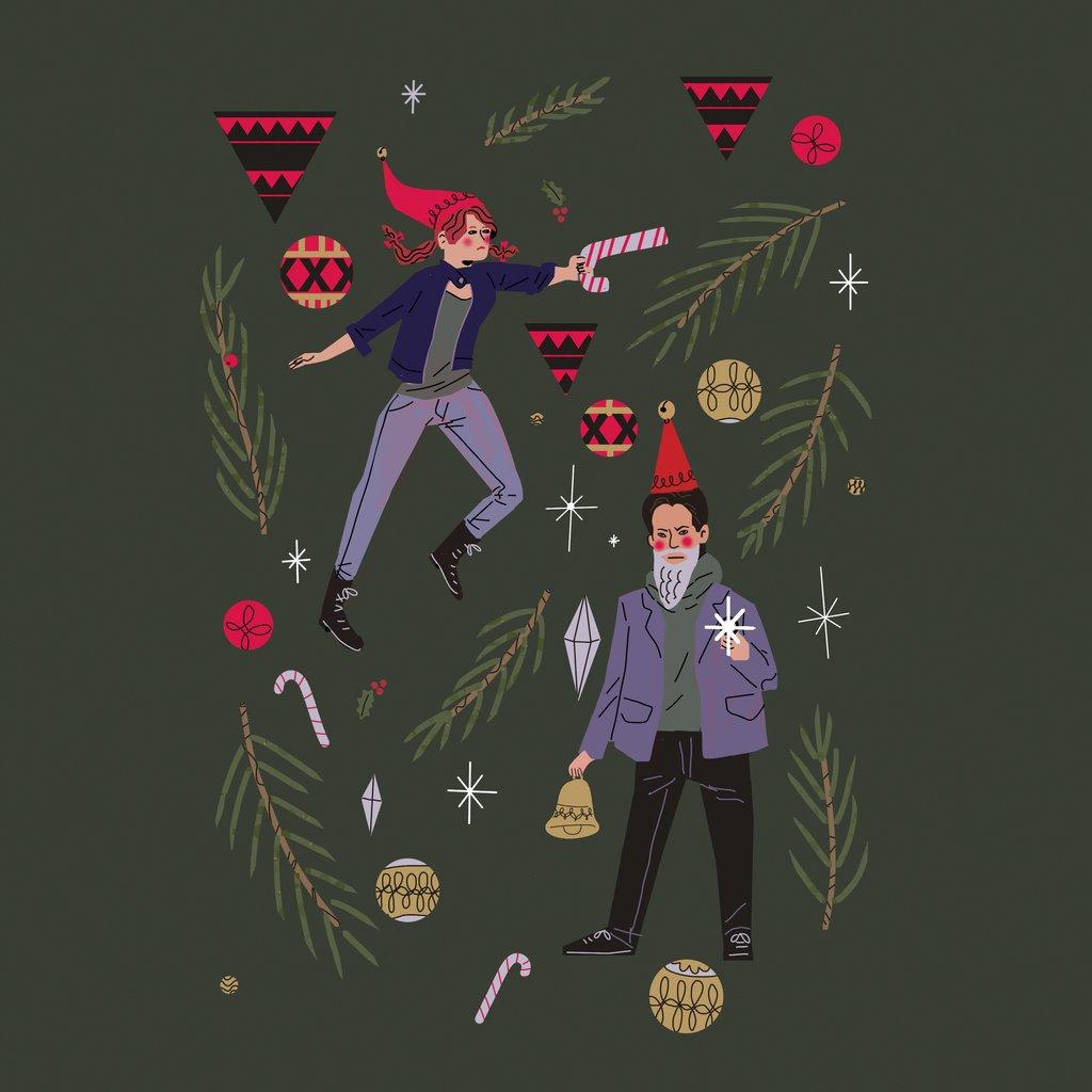 Издатели иразработчики поздравляют игроков сНовым годом иРождеством. Подборка открыток | Канобу - Изображение 6927