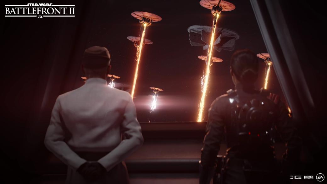 Мыпервыми вРоссии поиграли всюжет Star Wars: Battlefront2. Полеты на«СИД» чертовскихороши!. - Изображение 1
