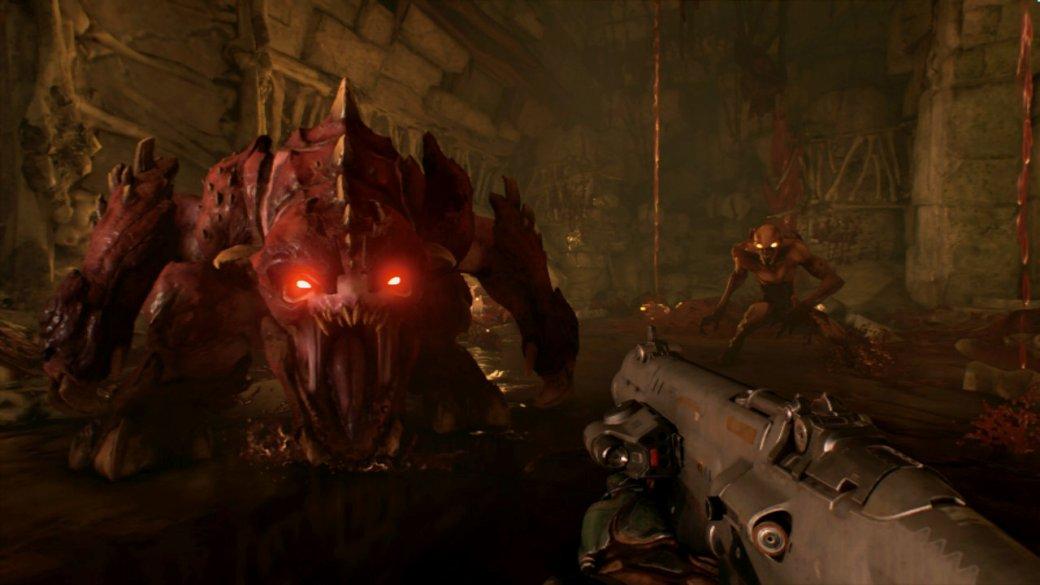 Что критики думают про Doom наSwitch и как графика в ней выглядит в сравнении сдругими платформами | Канобу - Изображение 1