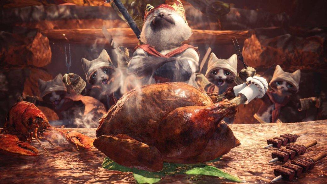 Ажслюнки потекли! Еда изMonster Hunter World, воссозданная вжизни, выглядит слишком аппетитно. - Изображение 4