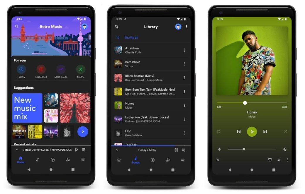 Аудиоплееры для Android - лучшие музыкальные плееры, бесплатные приложения для прослушивания музыки   Канобу - Изображение 4557
