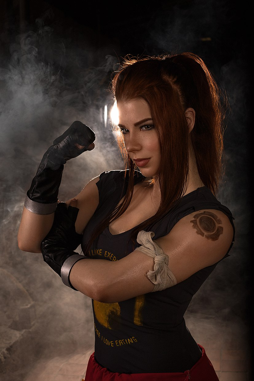 Потрясающий косплей Бригитты Линдхольм— новой героини Overwatch | Канобу - Изображение 13829