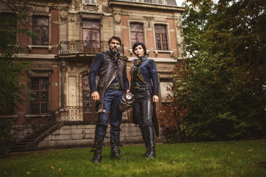 Косплей дня: Корво Аттано и Эмили Колдуин из Dishonored 2   Канобу - Изображение 3505