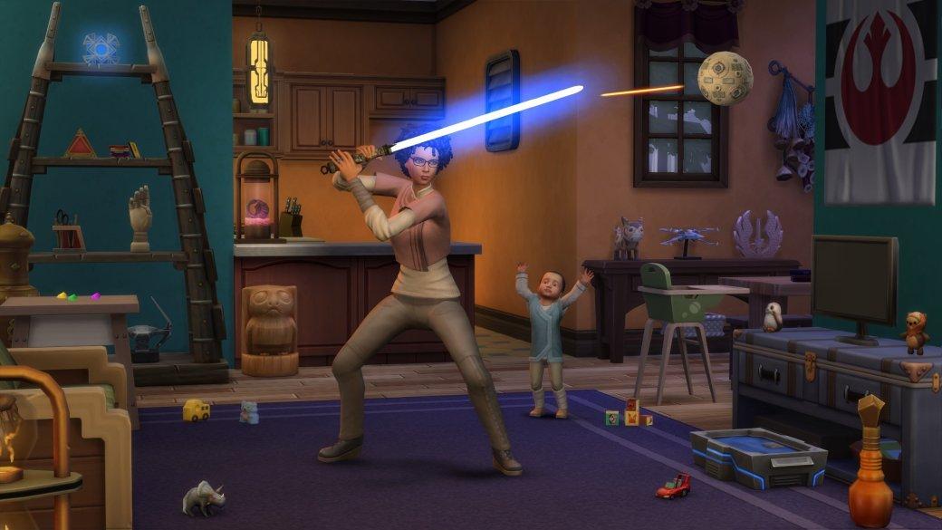 Световые мечи иКайлоРен. Что еще появилось вThe Sims 4 сдополнением «Путешествие наБатуу»?   Канобу - Изображение 3138