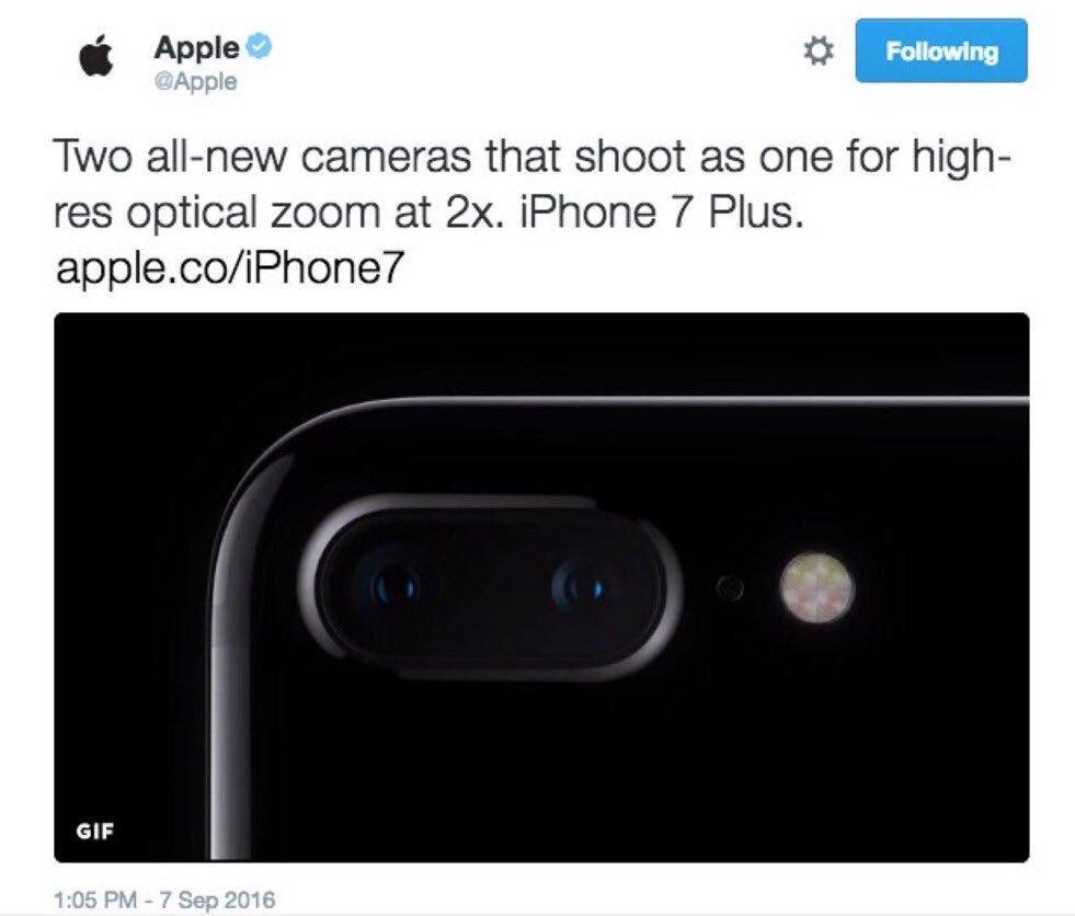 Apple анонсировала iPhone 7 раньше времени, а потом удалила твит   Канобу - Изображение 9351