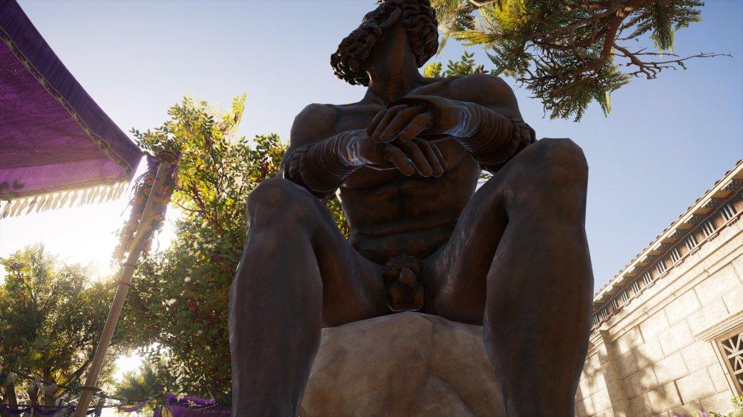 Журналист PCGamer составил топ пенисов изAssassin's Creed Odyssey— речь, конечно, остатуях | Канобу - Изображение 10
