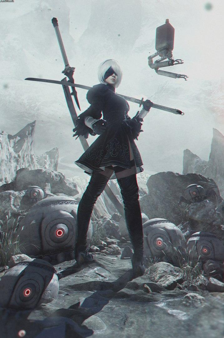 Косплей дня: девушка-андроид 2B изNieR: Automata | Канобу - Изображение 2
