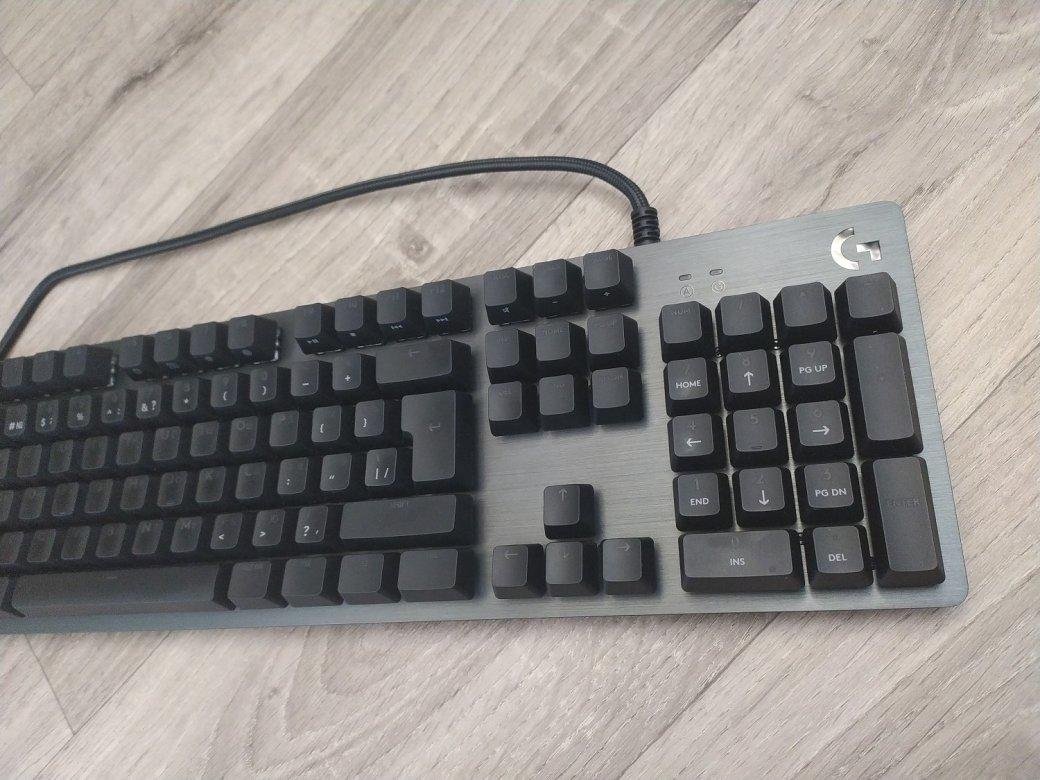 Обзор клавиатуры Logitech G512 Carbon— алюминиевый RGB-стиляга для геймеров | Канобу - Изображение 11546