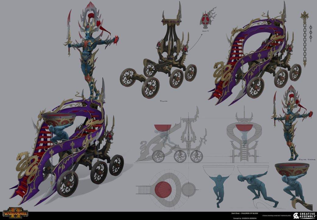 Взгляните напотрясающие концепт-арты Total War: Warhammer II. - Изображение 9
