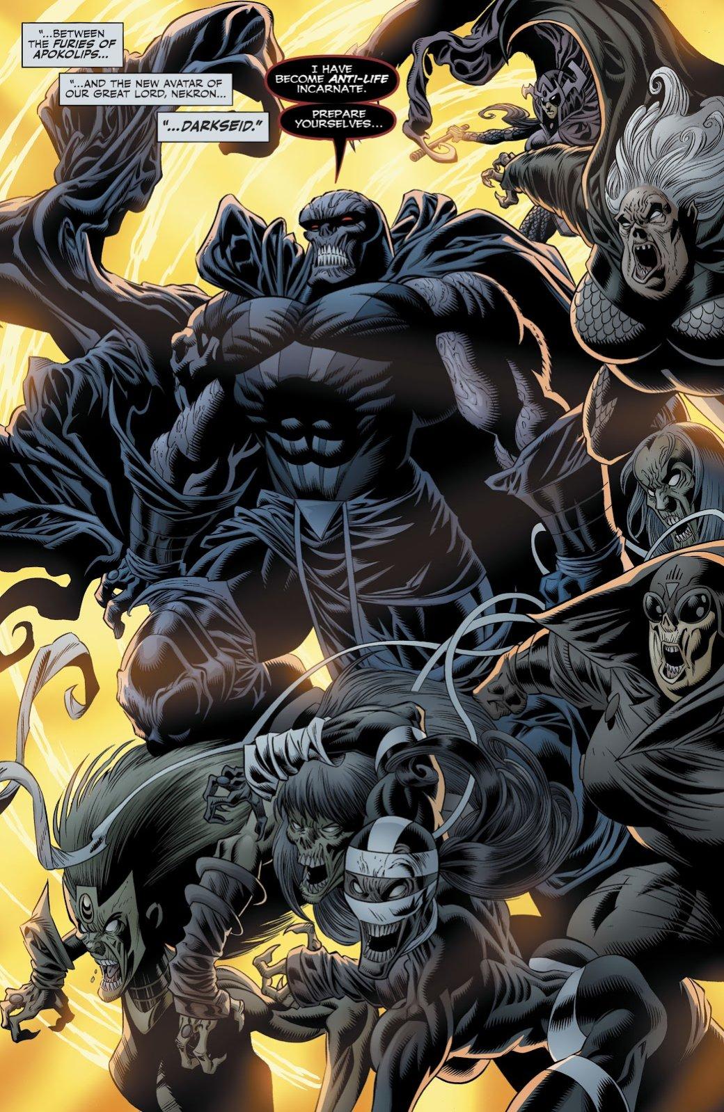 Темнейшая ночь стала еще темнее. Как Лобо иСинестро спасали мир отсмерти | Канобу - Изображение 10764