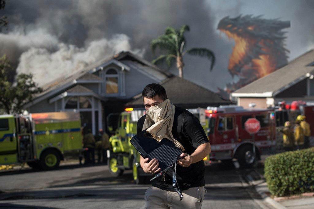 Что нужно спасать при пожаре? Этот парень решил, что свой Xbox, истал героем интернета!. - Изображение 8