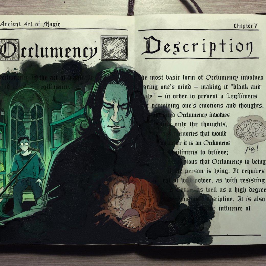 Художник нарисовал очень красивые иллюстрации по книгам о Гарри Поттере | Канобу - Изображение 4468