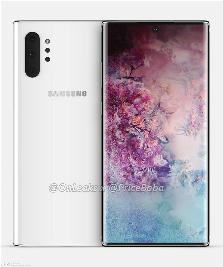 Стали известны характеристики нового флагмана  Samsung Galaxy Note 10+ | SE7EN.ws - Изображение 2