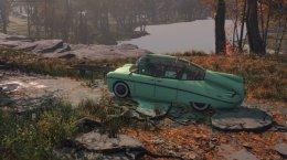 Фанат добавил в Fallout 4 несколько ретро-автомобилей. На них можно даже прокатиться!