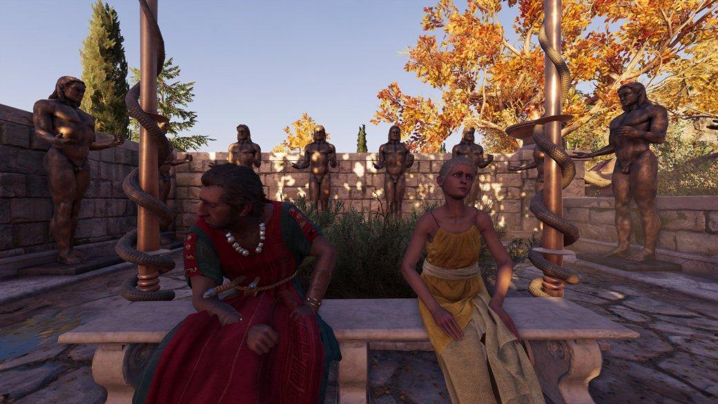Журналист PCGamer составил топ пенисов изAssassin's Creed Odyssey— речь, конечно, остатуях | Канобу - Изображение 13