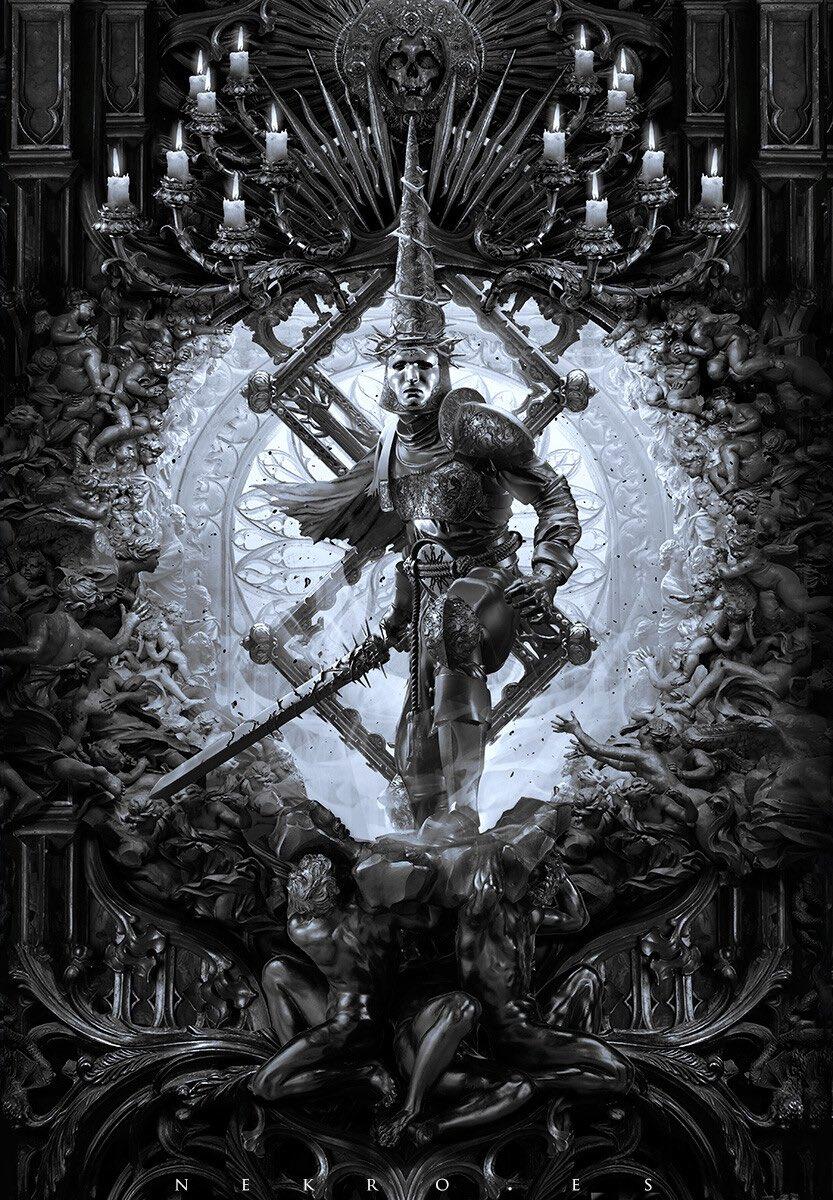 Художник рисует мрачные арты по«Ведьмаку», «Бэтмену» инетолько. Показываем его работы | Канобу - Изображение 6461