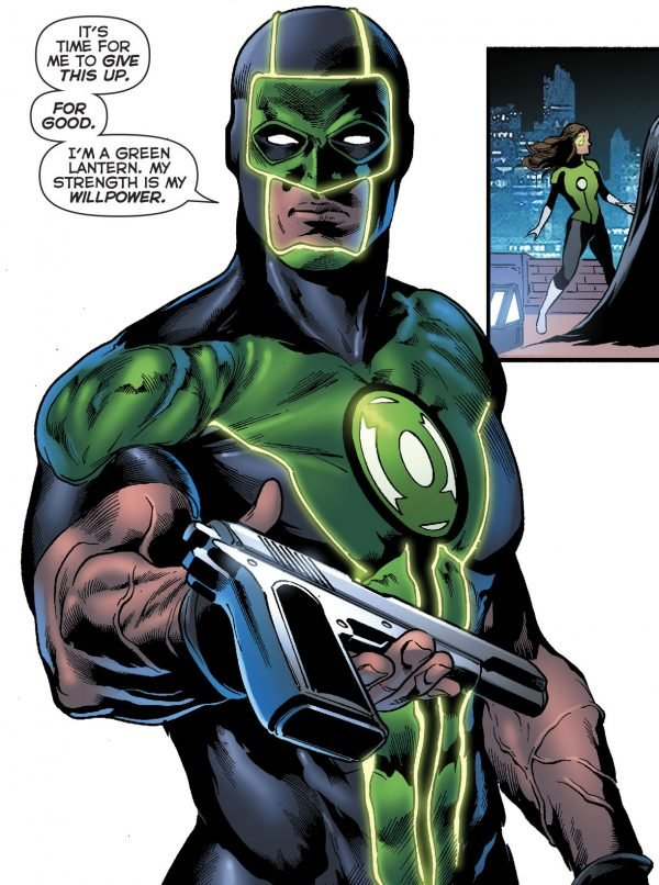 Зеленому фонарю больше не нужен пистолет, и все благодаря Бэтмену | Канобу - Изображение 11535