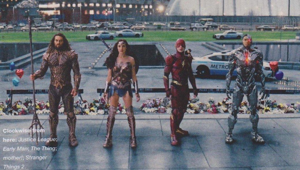 Бэтмен, Чудо-женщина иАквамен насвежих кадрах сосъемок «Лиги справедливости». - Изображение 11