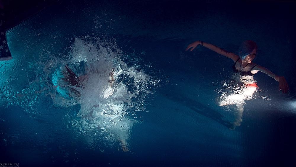 Горячий косплей веселящихся в бассейне Хлои и Макс из Life is Strange | Канобу - Изображение 1700