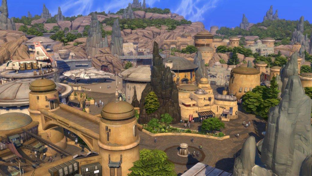 Световые мечи иКайлоРен. Что еще появилось вThe Sims 4 сдополнением «Путешествие наБатуу»?   Канобу - Изображение 3135