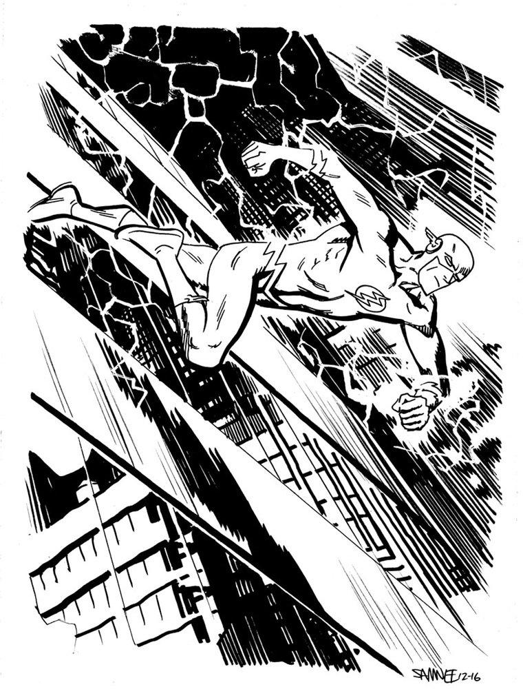 Супергерои Marvel и DC в рисунке Криса Сомни | Канобу - Изображение 8822