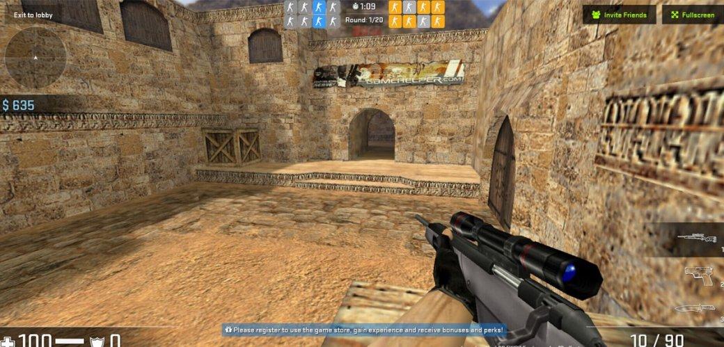 Бесплатная Counter-Strike 1.6 вбраузере. Фанаты вернули нам нулевые | Канобу - Изображение 480