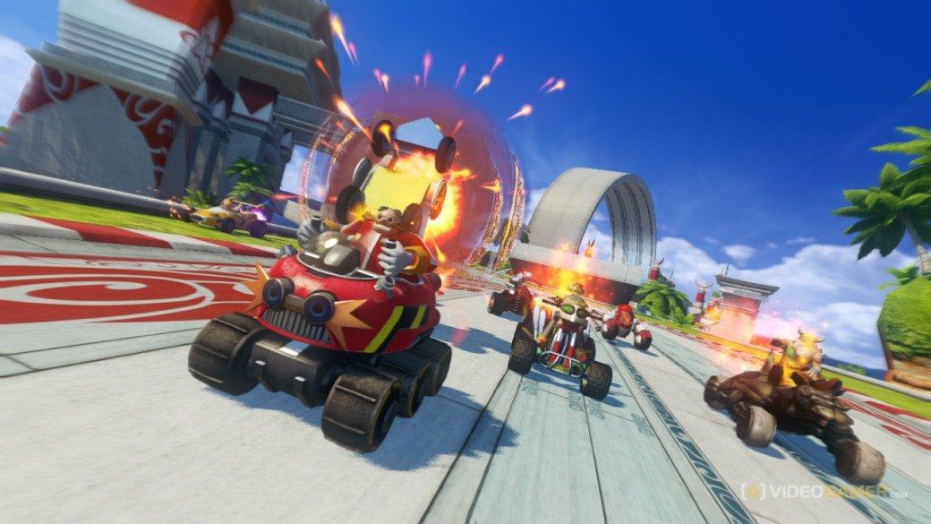 Рецензия на Sonic & All-Stars Racing Transformed