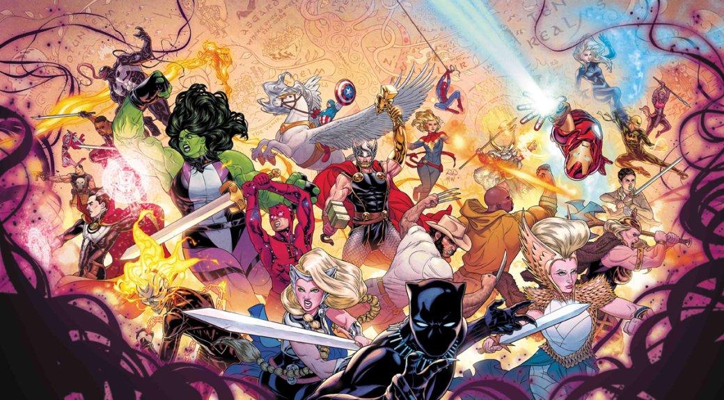 Что нужно знать оThe War ofthe Realms— новом событии вкомиксах Marvel обитве заМидгард | Канобу