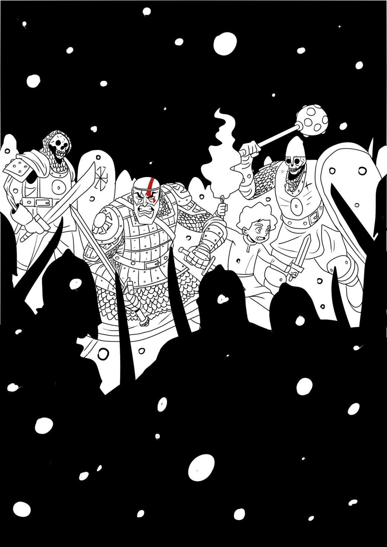 Кратос vsБаба-яга! Какбы выглядела God ofWar вславянской мифологии. - Изображение 10
