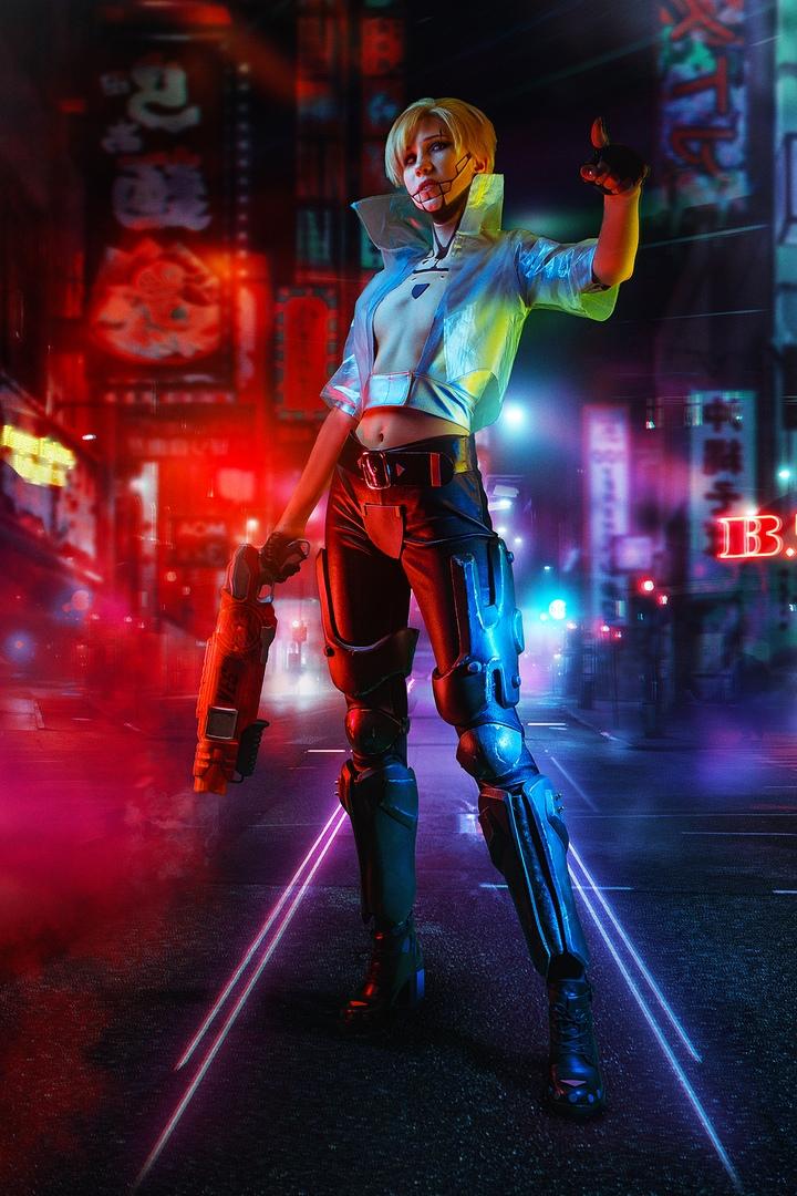 Какбы выглядели Геральт, Йорвет, Шани, Йеннифэр иБьянка вмире Cyberpunk 2077? | Канобу - Изображение 4