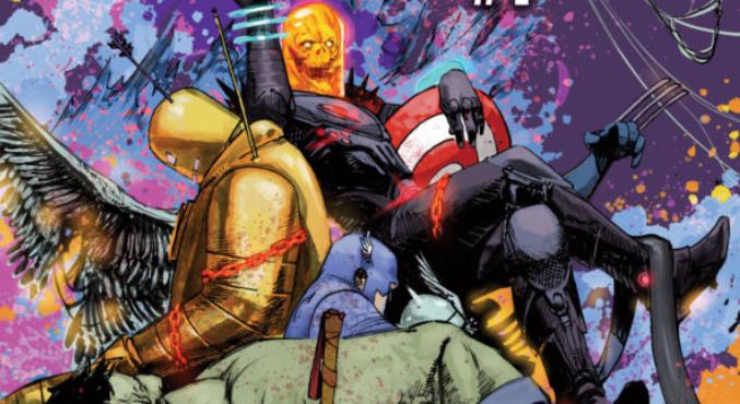 Космический Призрачный гонщик уничтожает вселен… историю Marvel?   Канобу - Изображение 5441