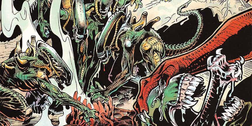 Жуткие комиксы про Чужих, откоторых кровь стынет вжилах | Канобу