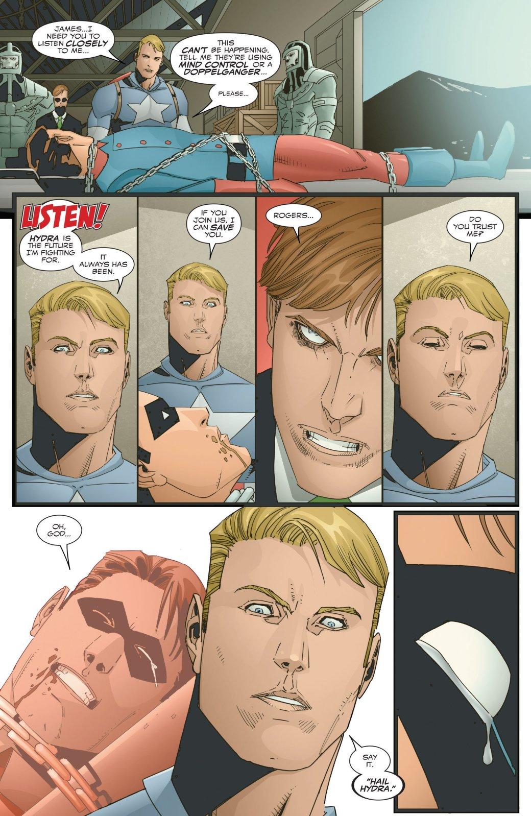 Зимний солдат вернулся в прошлое и узнал правду о Капитане Америка | Канобу - Изображение 8179